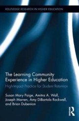 Omslag - The Learning Community Experience in Higher Education
