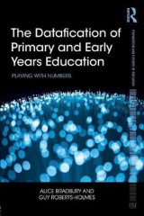 Omslag - The Datafication of Primary and Early Years Education