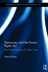 Omslag - Democracy and the Human Rights Act
