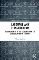 Omslag - Language and Classification