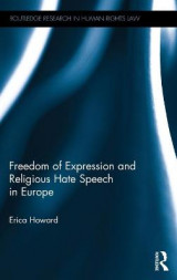 Omslag - Freedom of Expression and Religious Hate Speech in Europe