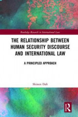 Omslag - The Relationship between Human Security Discourse and International Law