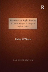 Omslag - Asylum - A Right Denied