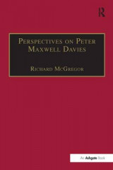 Omslag - Perspectives on Peter Maxwell Davies