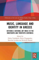 Omslag - Music, Language and Identity in Greece