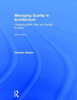 Omslag - Managing Quality in Architecture
