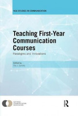 Omslag - Teaching First-Year Communication Courses