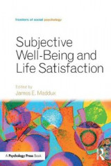 Omslag - Subjective Well-Being and Life Satisfaction