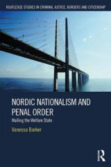 Omslag - Nordic Nationalism and Penal Order