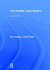 Omslag - The English Legal System