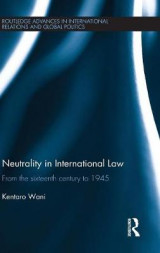 Omslag - Neutrality in International Law