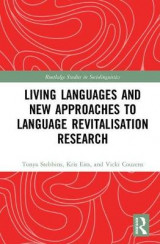 Omslag - Living Languages and New Approaches to Language Revitalisation Research