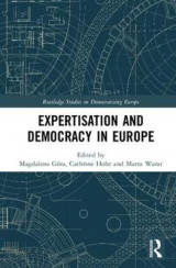 Omslag - Expertisation and Democracy in Europe