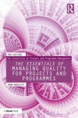 Omslag - The Essentials of Managing Quality for Projects and Programmes