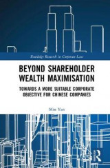 Omslag - Beyond Shareholder Wealth Maximisation