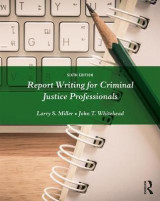 Omslag - Report Writing for Criminal Justice Professionals