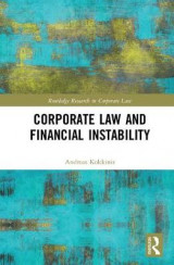Omslag - Corporate Law and Financial Instability
