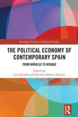 Omslag - The Political Economy of Contemporary Spain