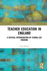 Omslag - Teacher Education in England