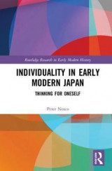 Omslag - Individuality in Early Modern Japan