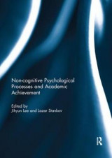 Omslag - Noncognitive psychological processes and academic achievement