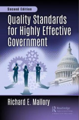 Omslag - Quality Standards for Highly Effective Government, Second Edition