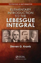 Omslag - Elementary Introduction to the Lebesgue Integral