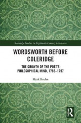 Omslag - Wordsworth Before Coleridge