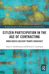 Omslag - Citizen Participation in the Age of Contracting