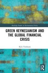 Omslag - Green Keynesianism and the Global Financial Crisis