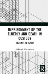 Omslag - Imprisonment of the Elderly and Death in Custody