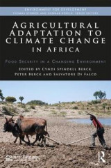 Omslag - Agricultural Adaptation to Climate Change in Africa
