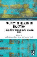 Omslag - Politics of Quality in Education