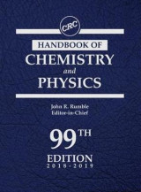 Omslag - CRC Handbook of Chemistry and Physics, 99th Edition