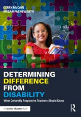 Omslag - Determining Difference from Disability