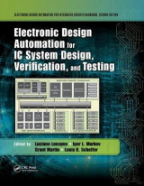 Omslag - Electronic Design Automation for IC System Design, Verification, and Testing