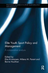 Omslag - Elite Youth Sport Policy and Management