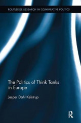 Omslag - The Politics of Think Tanks in Europe