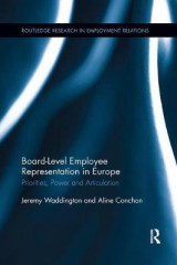 Omslag - Board Level Employee Representation in Europe
