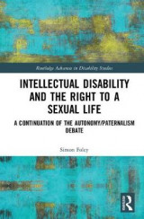 Omslag - Intellectual Disability and the Right to a Sexual Life