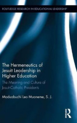 Omslag - The Hermeneutics of Jesuit Leadership in Higher Education