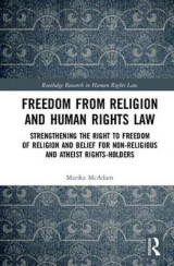 Omslag - Freedom from Religion and Human Rights Law