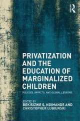 Omslag - Privatization and the Education of Marginalized Children