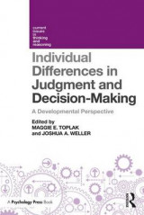Omslag - Individual Differences in Judgement and Decision-Making