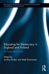 Omslag - Educating for Democracy in England and Finland