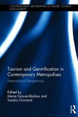 Omslag - Tourism and Gentrification in Contemporary Metropolises