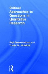Omslag - Critical Approaches to Questions in Qualitative Research