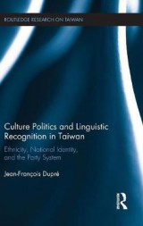 Omslag - Culture Politics and Linguistic Recognition in Taiwan