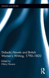 Omslag - Didactic Novels and British Women's Writing, 1790-1820
