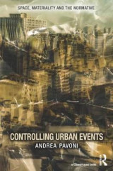 Omslag - Controlling Urban Events